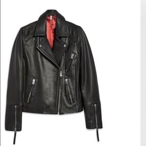 TopShop Dolly Leather Jacket